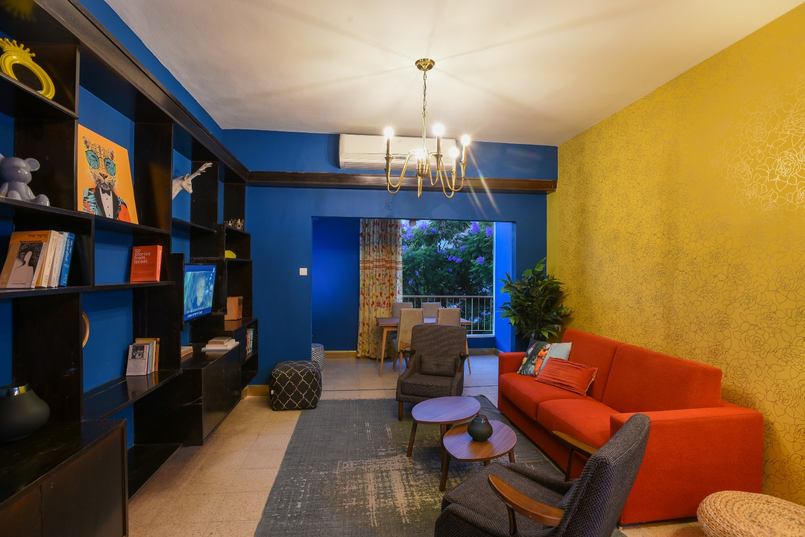 דירה להשכרה לתקופה קצרה  3 חדרים !price$ ללילה, תל אביב