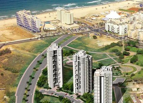 דירות יד שניה בפרויקט Sea Park בוני התיכון בת ים.