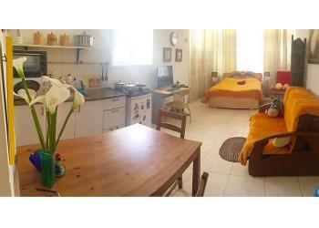 דירת סטודיו להשכרה לתקופה קצרה  1 חדר !price$ ללילה